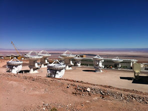 Atacama Large Millimeter Array A.L.M.A., Chile